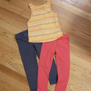4T pants and shirt